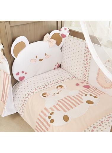 Cute Bear_Girl Uyku Setı 8 Parça (80X140)-Aybibaby